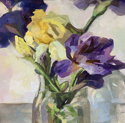 Yana Beylinson, 'Purple & Yellow', 2020