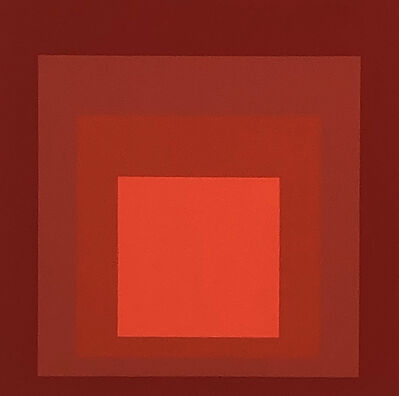 Josef Albers, 'Albers Homage to the Square screen-print 1977 (Josef Albers prints)', 1977