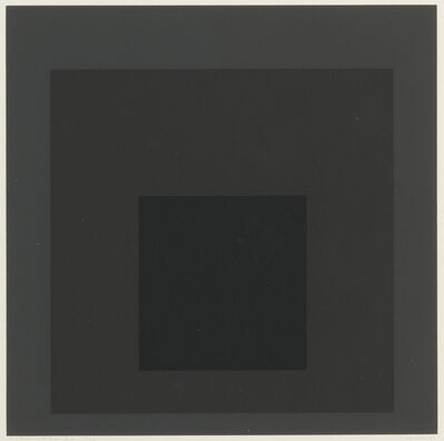 Josef Albers, 'Gray Instrumentation I b', 1974