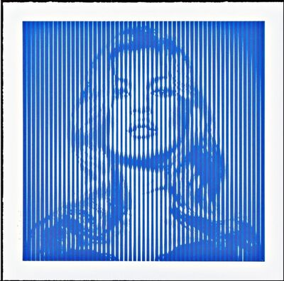 Mr. Brainwash, 'Kate Moss (Blue)', 2015
