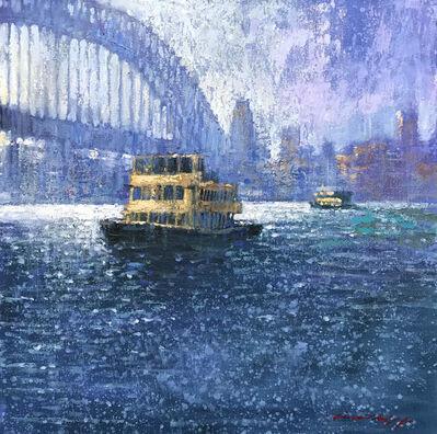 David Hinchliffe, 'Afternoon at Circular Quay'