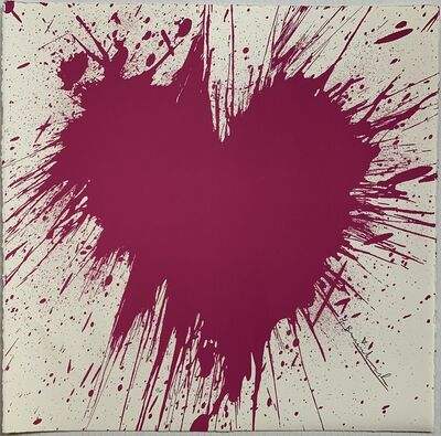 Mr. Brainwash, 'Love Splash', 2010