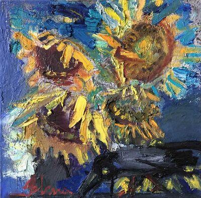 Elena Balsiukaitė-Brazdžiūnienė, 'Sunflowers', 2017