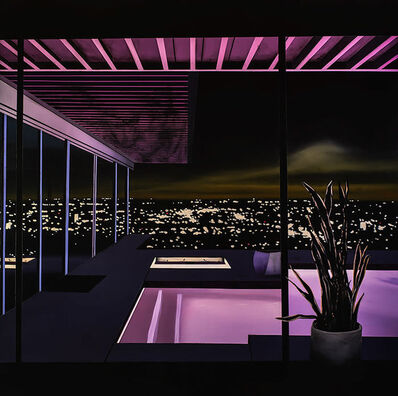 Laurence Jones, 'Night Pool I', 2018