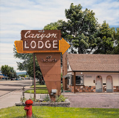 Bertrand Meniel, 'Canyon Lodge Motel', 2019