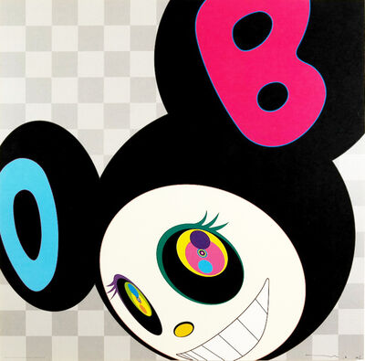Takashi Murakami, 'And then black', 2006