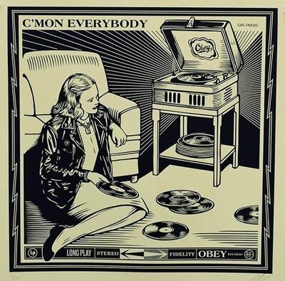 Shepard Fairey, 'C'mon Everybody', 2014