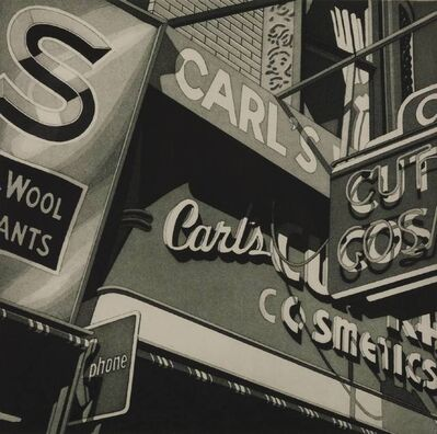 Robert Cottingham, 'CARL'S', 1977