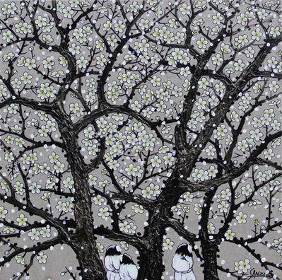 Sanzi 散子, '梅花容 Blossom', 2014