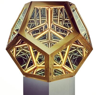 Anthony James, 'Portal Icosahedron (Gold)', 2019