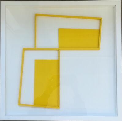 István Haász, 'Yellow Trapeze II', 2018