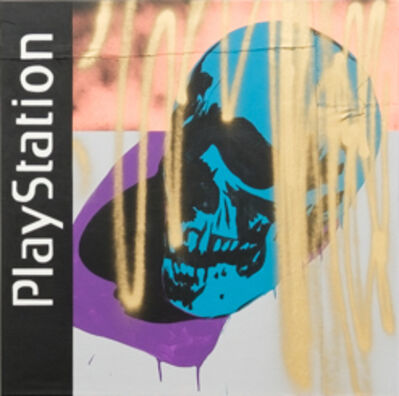 Michael Pybus, 'Playstation (teal) ', 2019