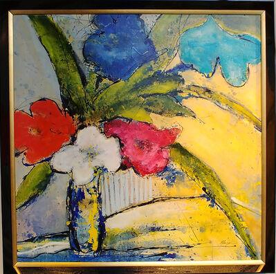 Helen Zarin, 'Fleurs - Multicolored', 2018