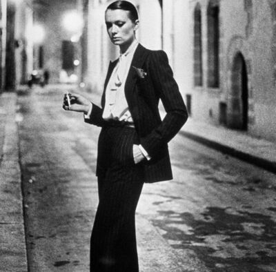 Helmut Newton, 'Rue Aubriot, French Vogue (1975)', ca. 1975
