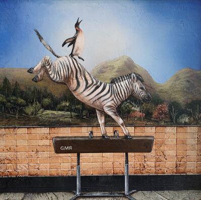 Tyson Grumm, 'Zebra Striped Pommel Horse', 2019