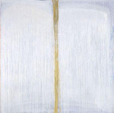 Pat Steir, 'White Moon Beam Split', 2006