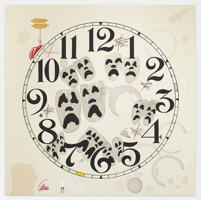 Amanda Ross-Ho, 'Untitled Timepiece (A CLEARLY ERRONEOUS HOLDING)', 2017