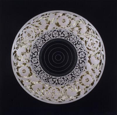 Anila Quayyum Agha, 'Flowers (Silver)', 2017