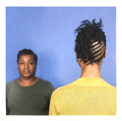 Sonya Clark, 'Hair Craft Project with Marsha', 2014