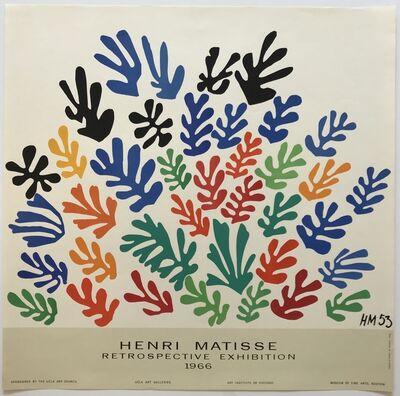 Henri Matisse, 'Retrospective Exhibition', 1966