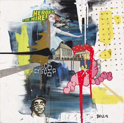 Stanley Bell, 'Heroes for Hire', 2016