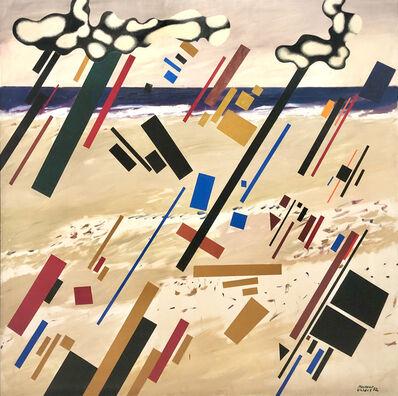 Manolo Valdés, 'Neoplasticist rain', 1982
