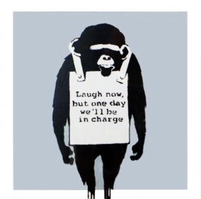 Banksy, 'Laugh Now (Silver) Vinyl Record', 2008