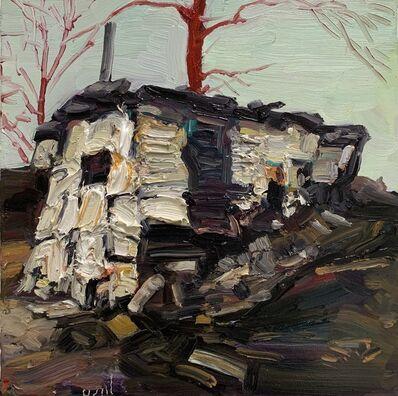 Hung Liu, 'Duster Shack 8', 2019