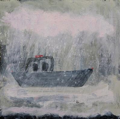 Kathryn Lynch, 'boat in bad weather', 2017