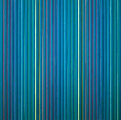 Gabriele Evertz, 'Blue + the Spectrum', 2009