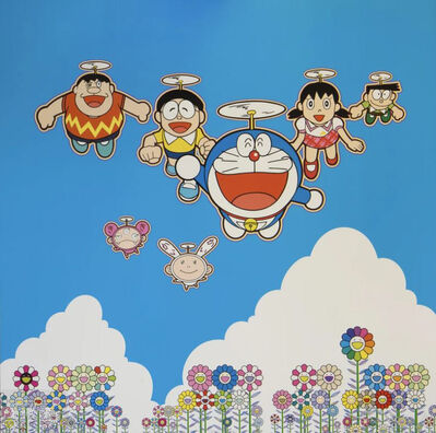Takashi Murakami, 'Wouldn't it be Nice if We Could Do This and That', 2020