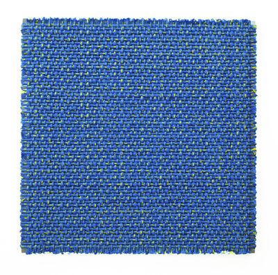 Dani Marti, ''Composition in Orange and Blue'', 2018