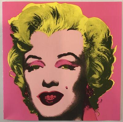 Andy Warhol, 'Marilyn Castelli Graphics Exhibition Invitation', 1981