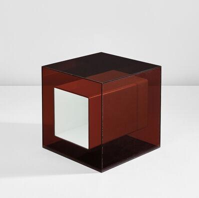 """Maria Pergay, 'Rare """"Plexiglas Cube""""', 1972"""