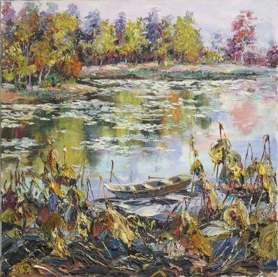 Zhang Shengzan 张胜赞, 'Lotus pond', 2006