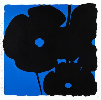 Donald Sultan, 'Blue and Black, Nov 6, 2015', 2015