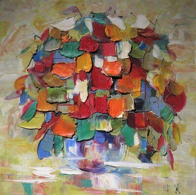 Zhang Shengzan 张胜赞, 'Dance of petals', 2010