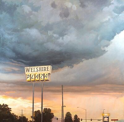 David Kammerzell, 'Storm Over Colorado Boulevard', 2016