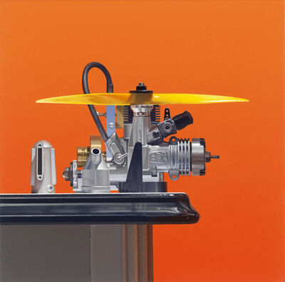 Harold Reddicliffe, 'Three Engines and Gas Tank', 2009