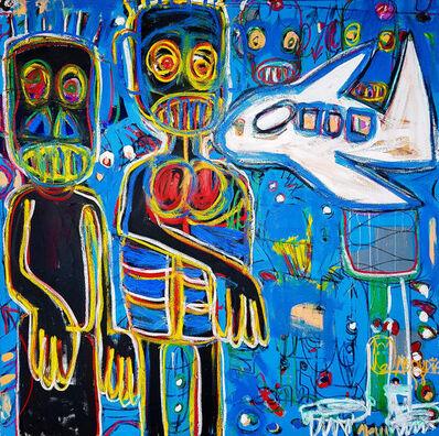 Aboudia, 'L'Aventurier II', 2018