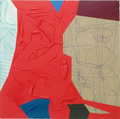 José Lerma, 'Fallen Red', 2019