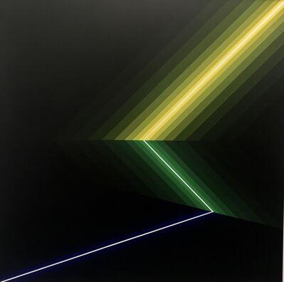 Horacio Garcia-Rossi, 'Color lumiere', 1985