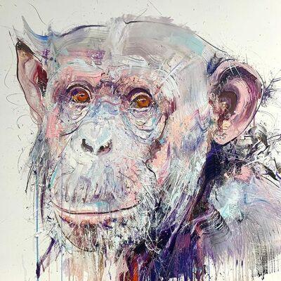 Dave White, 'Old Chimp II', 2019