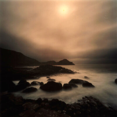 Dianne Bos, 'Giants Causeway with Sun, Ireland', 2011