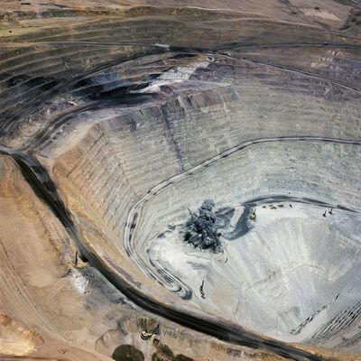 David Maisel, 'Blast 1, Minera Centinela, Copper Mine, Antofagasta Region, Atacama Desert, Chile', 2018