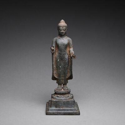 Unknown Indonesian, 'Bronze Buddha Figure ', 900-1250