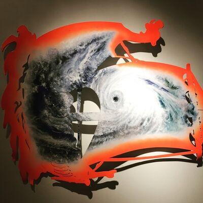 Dionisios Fragias, 'Ship as Flag as Storm', 2016
