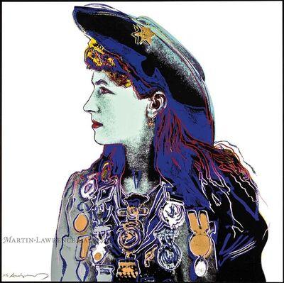 Andy Warhol, 'Annie Oakley, 1986 (#378, Cowboys & Indians)', 1986