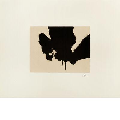 Robert Motherwell, 'Untitled (from Three Poems by Octavio Paz)', 1988