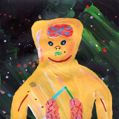 Misaki Kawai, 'Today's Visitor', 2009
